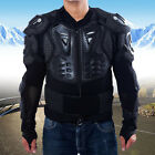 Fashion Men's Motorcycle Armour Jacket Body Guard Bike Motocross Gear Black