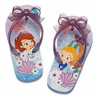 Disney Store Princess Sofia the First & Amber Flip Flop Sandals Size 5/6