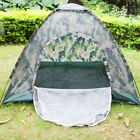 New 3 Person Outdoor Festival Camping Hiking Folding Tent Waterproof Camouflage