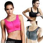 FL 1PC Wirefree Sports Bra High Intensity Shakeproof Gym Running Tank Top Vest