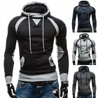 Men's Warm Hoodie Jacket Warm Hooded Pullover Sweatshirt Coat Outwear Sweater