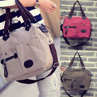 Fashion Women Handbag Canvas Shoulder Bag Messenger Hobo Tote Satchel Weekender