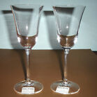 Vera Wang Wedgwood CLASSIC Crystal Goblet Pair (2) 9-oz. Glasses Germany New!