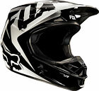 NEW FOX RACING V1 RACE MX DIRT BIKE MOTOCROSS HELMET BLACK ALL SIZES