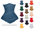 Heavy Duty 26 Double Steel Boned Waist Training Cotton Underbust Corset 8553(TC)