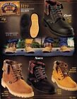 Original Michel King Exotic Men's H59 Lace Up Leather Ankle Work Boots