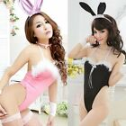 Women Body Suit Hot Sexy Cosplay Costume Bunny Playsuit Babydoll Underwear DZ88