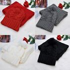 New Womens Knit Handmade Hat and Scarf Winter Set Knitting Skullcaps collars DZ