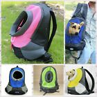 Pet Front Carrier Dog Cat Puppy Carrier Bag Travel Bag Mesh Backpack Head Out