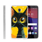 For Alcatel POP 4+ Slim Fitted Flexible TPU Case Cartoons