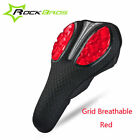 RockBros Bicycle Soft Silica Gel Pad Seat Cushion Cover Mesh Saddle Cover New