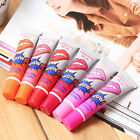 6Pcs Tattoo Magic Color Peel Off Mask Tint Waterproof Lip Gloss Long Lasting Neu
