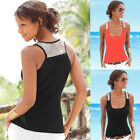 HOT Sexy Women Sleeveless Shirt Vest Top Blouse Casual Tops T-Shirt Slim Fit Top