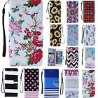 For Samsung Galaxy Phone Fashion Magnetic Leather Card Wallet Stand Case Cover