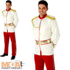 Prince Charming Mens Fancy Dress Disney Fairytale Book Day Adults Costume Outfit