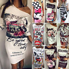 Sexy Womens Summer Floral Cocktail Party Evening Bodycon Slim Pencil Mini Dress