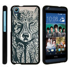 For HTC Desire 626 & 626s Case Hard Snap On 2 Piece Slim Shell Drawn Designs