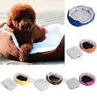 New Small Medium Pet Dog Puppy Cat Soft Fleece Cozy Warm Bed House Cotton Mats