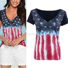Women's Casual Pleated Blouse Short Sleeve Shirt T-shirt Summer Tops Fashion New