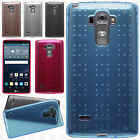 For LG G Stylo Spotted TPU CANDY Gel Flexi Skin Case Cover +Screen Protector