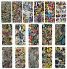 Superhero Comic Book Strips Flip Case Cover for Apple iPhone 4 4s 5 5s 6 Plus -