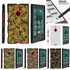 For  Nokia Lumia 1520 Case Hard Snap On 2 Piece Slim Shell Digital Camouflage