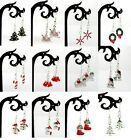 Christmas Earrings Various Designs - Buy 2 Get 1 Free (add 3 To Basket)