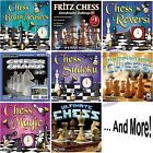 CHESS SOFTWARE GAMES Windows PC XP Vista 7 8 10 NEW Factory Sealed