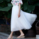Hot summer dress delicate skirt three layers of gauze layer posed skirt lining