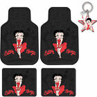 New Classic Betty Boop SkyLine Red Dress Car Truck Rubber Floor Mats Front/ Rear $29.21 USD on eBay