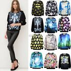 WOMEN'S PERSONALIZED HOODIE SWEATER TOPS SWEATSHIRT COAT JACKET PULLOVER FASHION