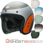 Bell Custom 500 SE Airtrix Delinquent Bike Helmet & Optional Bubble Deluxe Visor