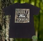 New Ford Realtree Camo Truck Built Tough  Logo T-Shirt