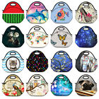 Portable Insulated Thermal Cooler Lunch Box Carry Tote Storage Picnic Lunch Bag