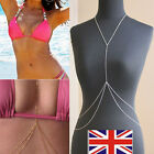Hot Sale Body Belly Waist Chain Bikini Crossover Beach Harness Necklace Pretty