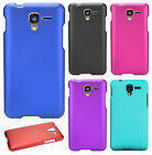 For Kyocera Hydro Shore Rubberized Hard Protector Case Phone Cover +Screen Guard