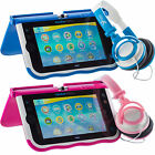 Small Childrens Blue Pink DJ Style Kids Folding Headphones for Vtech InnoTab Max