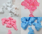 40 Novelty 25mm Bunny  Rabbit Pony Beads - Color Choice