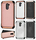 For ZTE Grand X Max 2 IMPACT HYBRID Plating Protector Case Skin Phone Cover