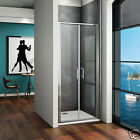 900X700 Double 180° Pivot Shower Enclosure Door 6mm Glass Screen and Stone Tray