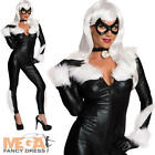 Marvel Black Cat Ladies Fancy Dress Adults Womens Superhero Costume Outfit New