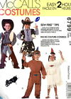Costume Pattern M6799 Child Cowboy Indian