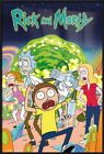 RICK AND MORTY - FRAMED TV SHOW POSTER / PRINT (THE CAST)
