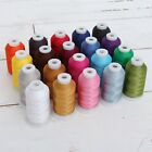 Внешний вид - MACHINE EMBROIDERY THREAD SETS - POLYESTER 20 COLORS - 10 SETS - 1000M SPOOLS