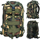 Large Hiking Camping Bag Army Military Tactical Trekking Rucksack Backpack Camo