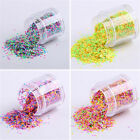 1mm Mixed Colorized Nail Art Glitter Sequins Candy Color Round Accessories