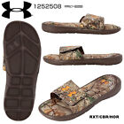 NEW Under Armour 1252508 MN Ignite Realtree AP Camo IV SL Slide Sport Sandal 40