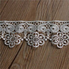 1 yd Polyester Embroidered Edge Lace Trim Sewing Applique Craft Dressmaking DIY