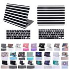 "Macbook Air 13"" Inch Rubberized Plastic Hard Shell Cover Case + Keyboard Skin"