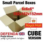 "6"" Inch CUBE Size Royal Mail SMALL PARCEL BOXES PiP Postal Packet Posting"